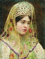 Суриков Портрет девушки в русском костюме.jpg