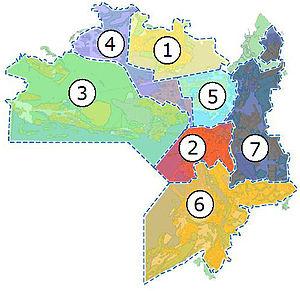 Схема районов Казани