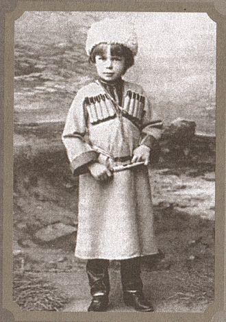 Roman von Ungern-Sternberg - Roman Nikolai Maximilian von Ungern-Sternberg as a child.