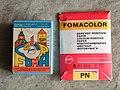 Фотобумага Фомаколор PN и набор химикатов.JPG