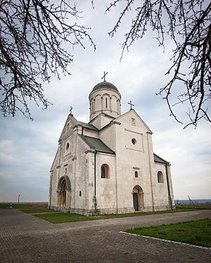 Kingdom of Galicia–Volhynia - Saint Pantaleon Church, Shevchenkove, Halych Raion, 1194