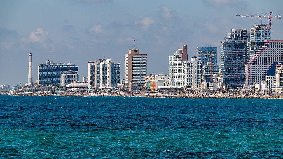 רצועת החוף של תל אביב