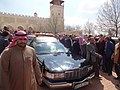 صلاة الجنازة على الشيخ حارث الضاري في مسجد الحسين بن طلال في حدائق الحسين بعمان 12.JPG