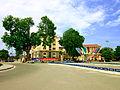 Ở vòng xoay trung tâm Vĩnh Yên.jpg
