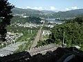 水力発電所の上から - panoramio.jpg