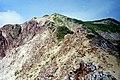 水晶岳を見上げる - panoramio.jpg
