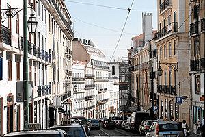 English: Bairro Alto, Lisbon Portugal Portuguê...