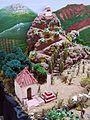026 Maqueta de Mont-roig del Camp al Centre Miró, el Peiró i la Mare de Déu de la Roca.jpg