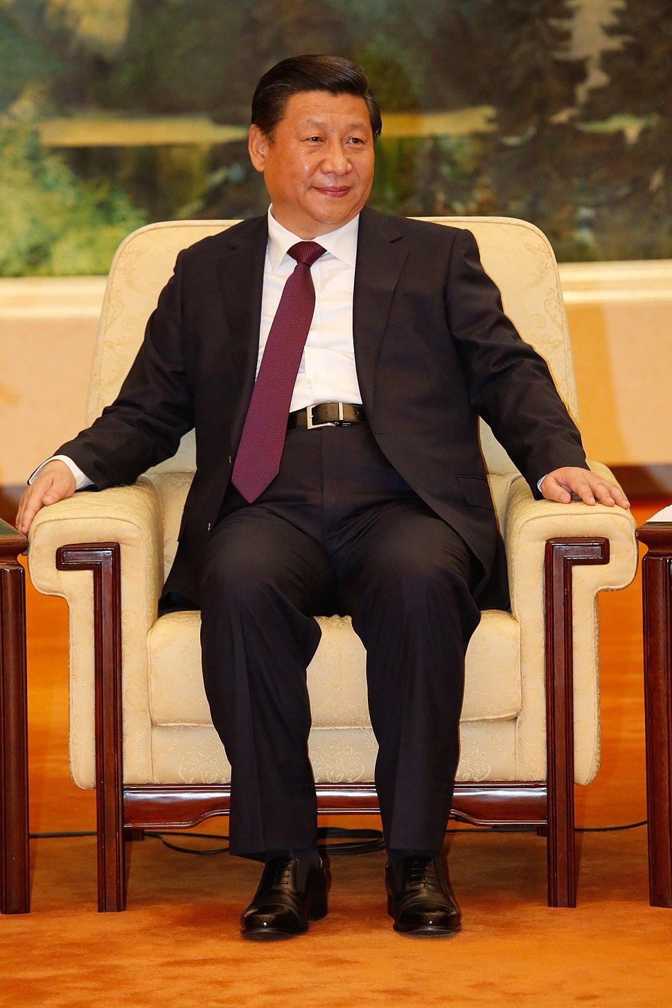 07-11-2013 - Pequim - Vice-presidente Michel Temer em encontro com o presidente da República Popular da China, no Palácio do Povo, Pequim. (1)