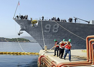 Crete Naval Base - Image: 070725 N 0780F 004
