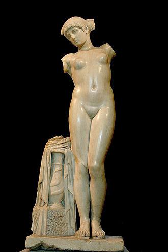 """Capitoline Museums - """"Esquiline Venus""""."""