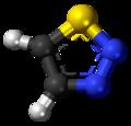 1,2,3-Thiadiazole 3D ball.png