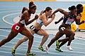100 metres hurdles heats Daegu 2011.jpg