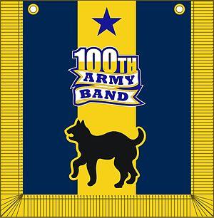 100th Army Band - Image: 100th Army Band tabard