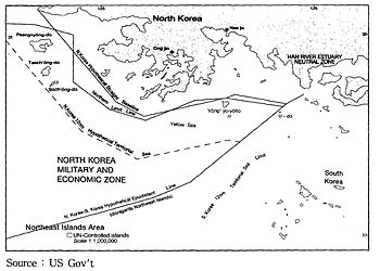 Northern Limit Line Wikipedia - Us government map nll