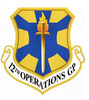 12th Operations Group - Emblem of the 12th Operations Group