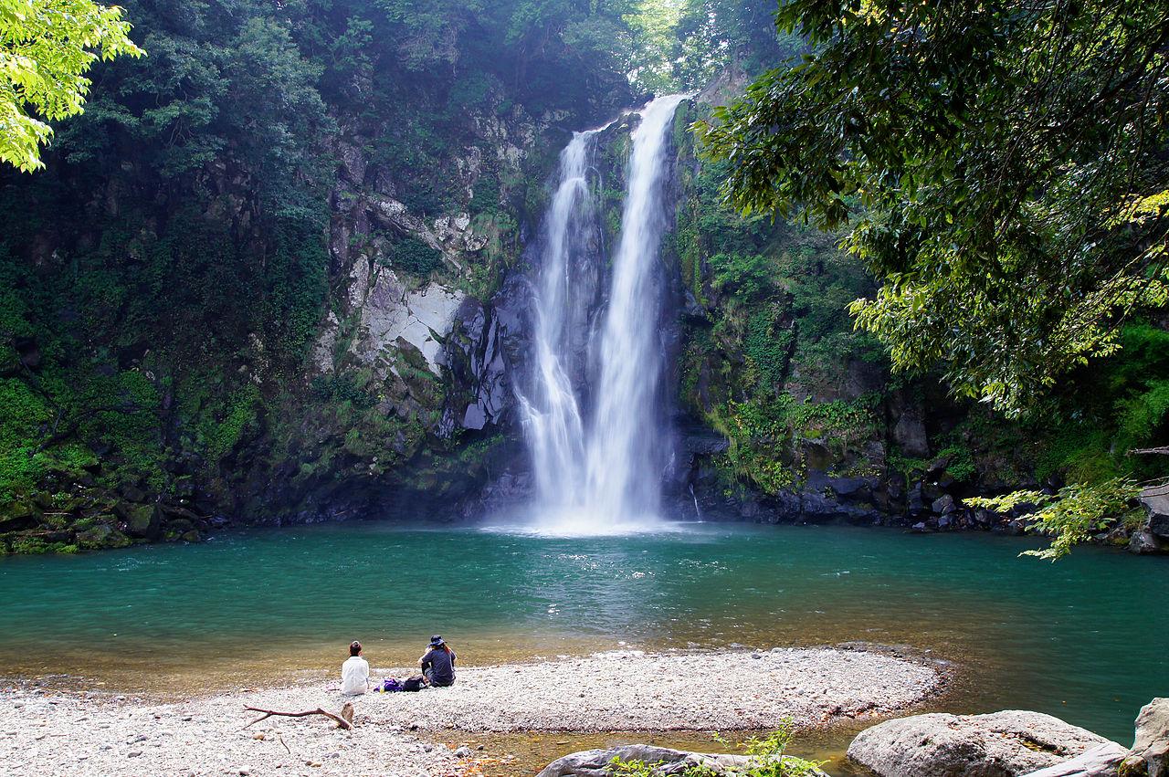 Toyooka Japan  City new picture : 130914 Hattandaki Waterfall Toyooka Hyogo pref Japan02s5 ...