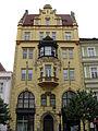 149 Casa Bubnovský, o de l'Àguila Bohèmia, Ovocný Trh.jpg