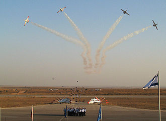 Hatzerim Airbase - Cadet graduation ceremony at Hazerim Airbase