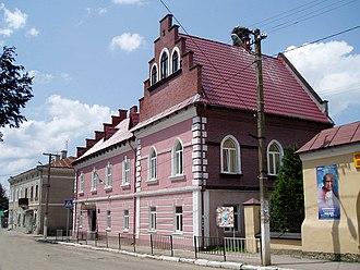 Yavoriv - Image: 15 Lvivska Street, Yavoriv (03)