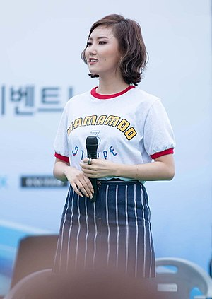 Hwasa - Hwasa in May 2016