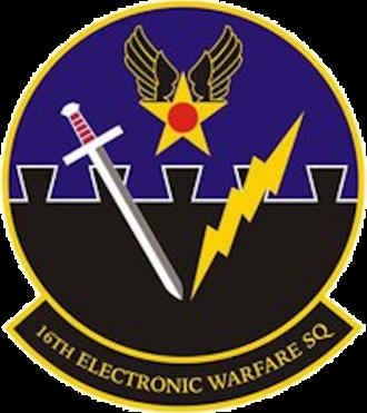 16th Electronic Warfare Squadron - Image: 16th Electronic Warfare Squadron emblem