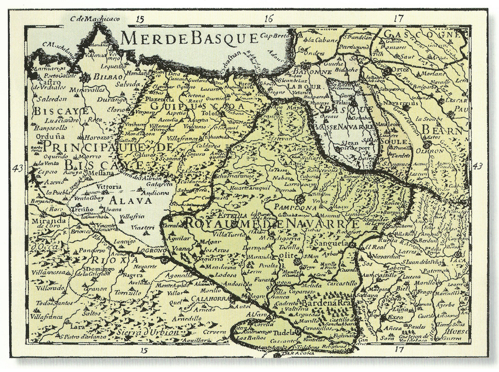 1712 Basque districts