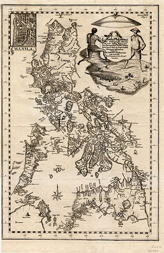 Scarborough Shoal - 1774 map of the Philippine Islands depicting Scarborough Shoal as Panacot Shoal