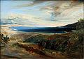 1829 Blechen Meeresbucht in Italien anagoria.JPG