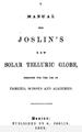 1852 manual Joslins solar telluric globe.png