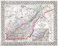 1874 Mitchell Map of Quebec, Canada - Geographicus - Quebec-m-1874.jpg