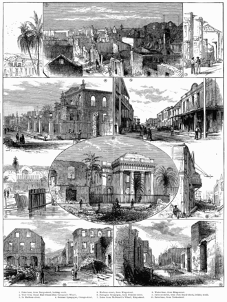 Scenes in Kingston after the 1882 fire. 1882 Kingston Fire.png