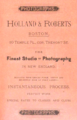 1886 Holland and Roberts photographers advert 10 Temple Place in Boston.png