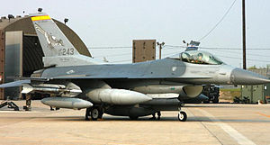 188th Rescue Squadron - 188th Fighter Squadron – General Dynamics F-16C Block 30F Fighting Falcon 87-0243