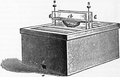 1911 Britannica - Bee - Huber's bar-hive.png