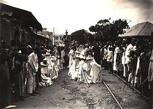 Timeline of Lagos - Lagos, 1912