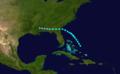1912 Atlantic tropical storm 2 track.png