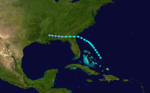 1912 Atlantic tropical storm 2 track.png