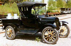 Pickup truck - 1922 Ford Model T Pickup 2