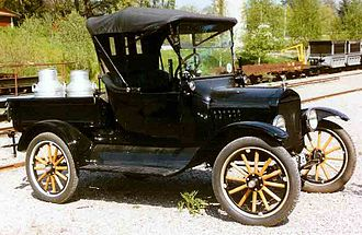 Pickup truck - A 1922 Ford Model T pickup