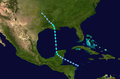 1931 Atlantic tropical storm 2 track.png