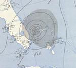 1948 Miami Hurrikananalyse 6. Oktober.png