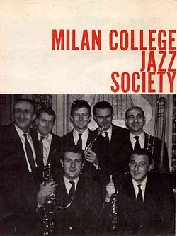 Milan College Jazz Societynel 1962