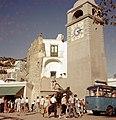 1958 Capri Piazza Umberto I Clock Tower Maurice Luyten.jpg