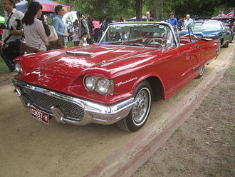 Ford Thunderbird (second generation) - 1958 Ford Thunderbird
