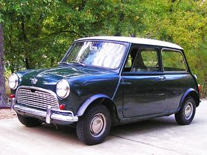 British Motor Corporation - A 1963 Austin Mini Super-Deluxe The Mini was BMC's all-time best seller.