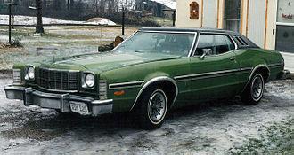 Ford Elite - 1974 Ford Gran Torino Elite