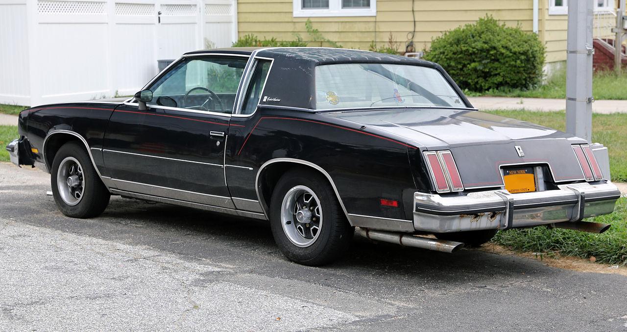 File:1980 Oldsmobile Cutlass Supreme coupé, black.jpg ...