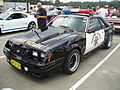 1983 Ford Mustang Police Interceptor coupe (5409770221).jpg
