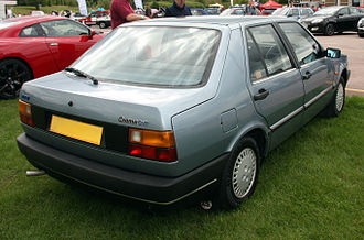 Fiat Croma - 1987 Fiat Croma CHT